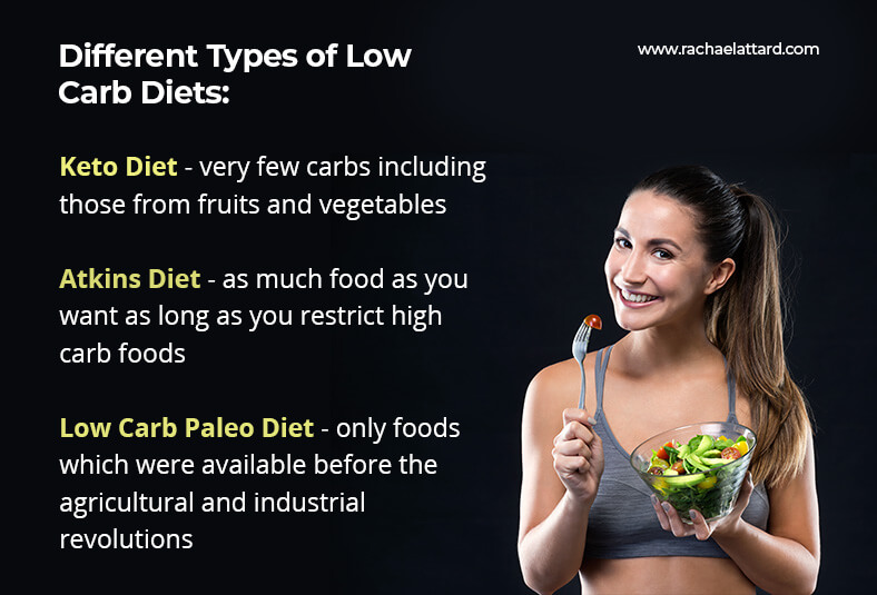 transitioning from a low carb diet different types of low carb diets