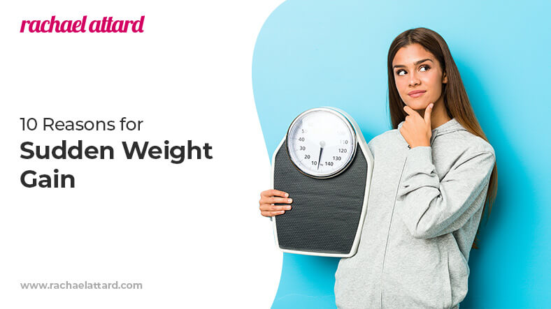 Reasons for sudden weight gain