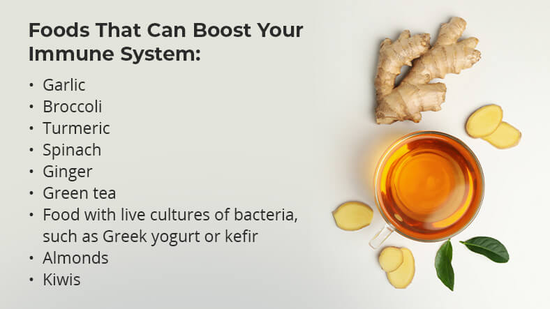 foods that can help you boost your immune system