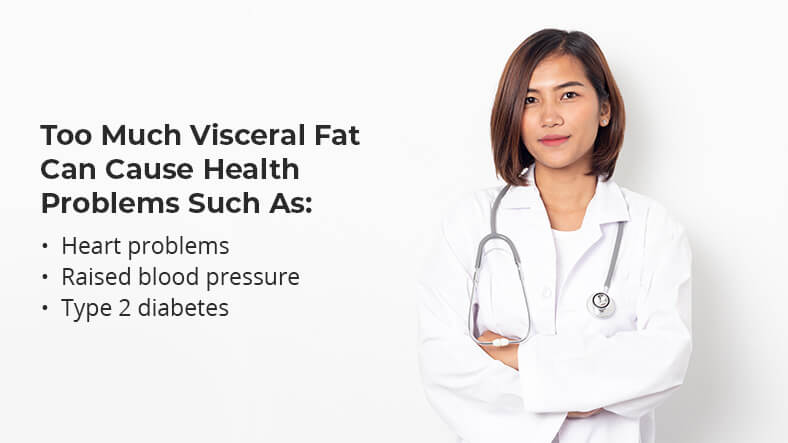 visceral fat health problems