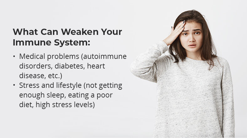 how to boost your immune system - signs your immune system is weak