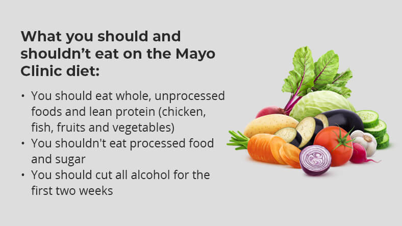 what to eat on the mayo clinic diet