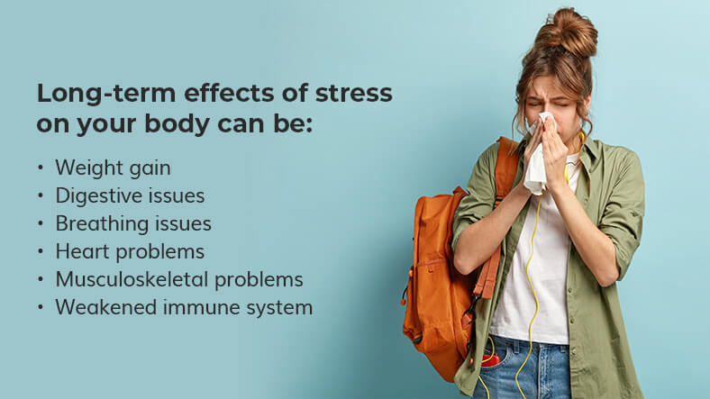long-term effects of stress on your body