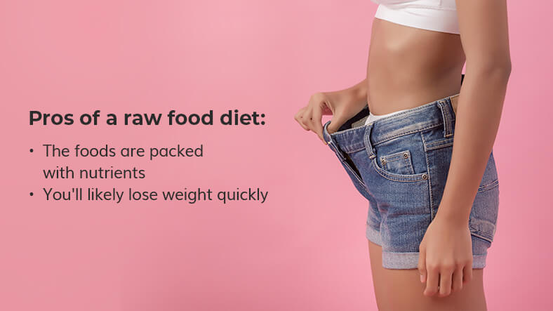 pros of a raw food diet