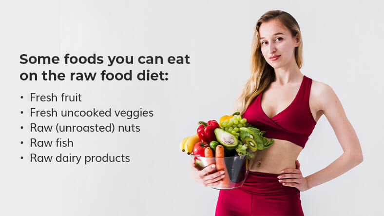 raw food diet foods you can eat