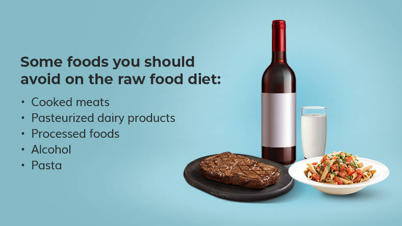 raw food diet foods you should avoid