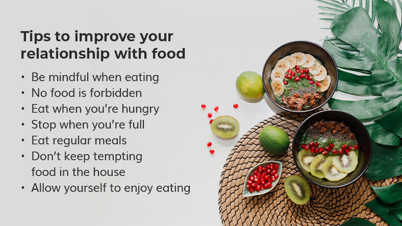 improve your relationship with food