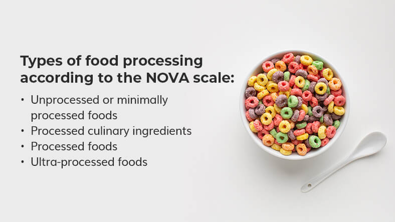 types of food processing