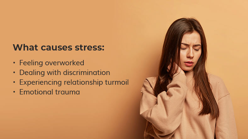 what causes stress