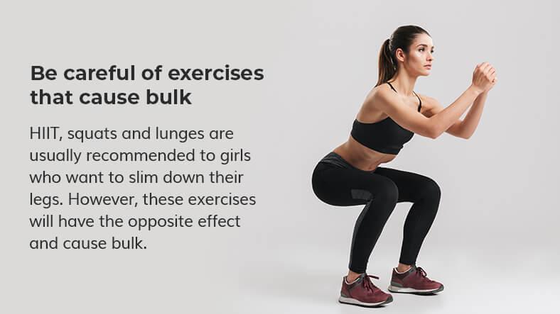 exercises that cause bulk