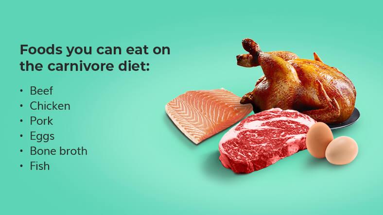 carnivore diet food list