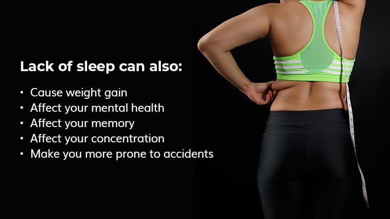 lack of sleep effects