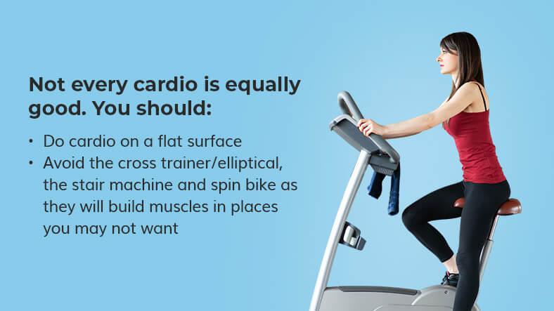 cardio for skinny legs
