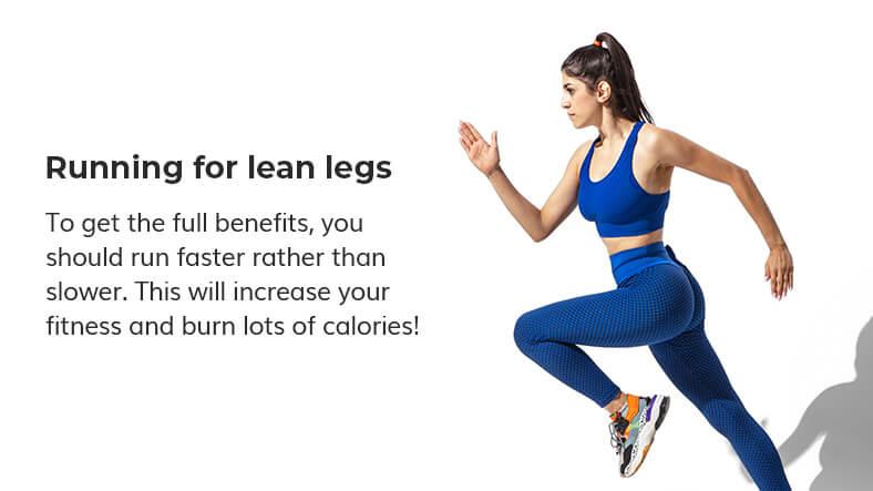 running for lean legs
