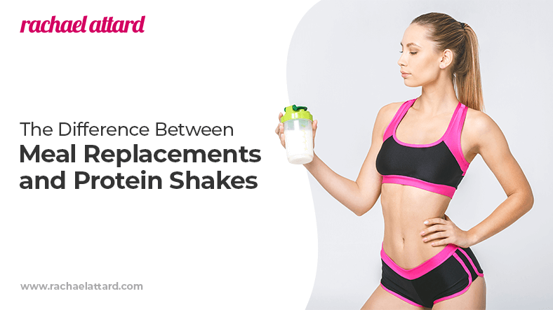 The difference between meal replacements and protein shakes