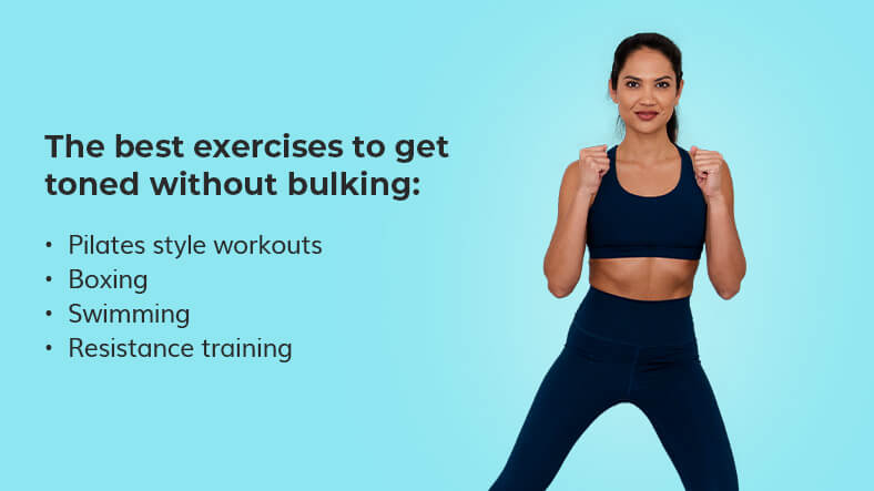 the best exercises to get toned and not bulky