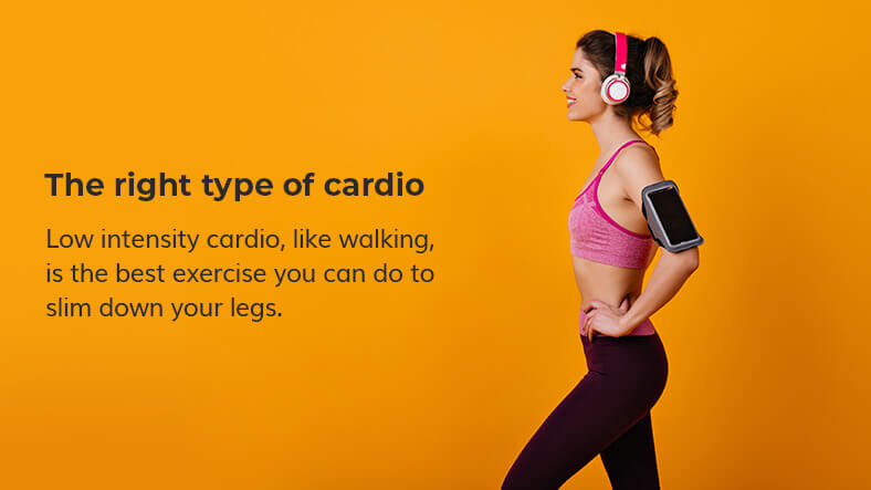 cardio for lean legs