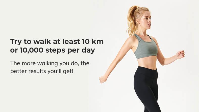walking cardio lean legs