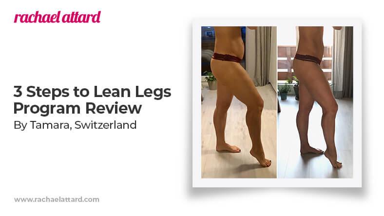 3 Steps to lean legs program review