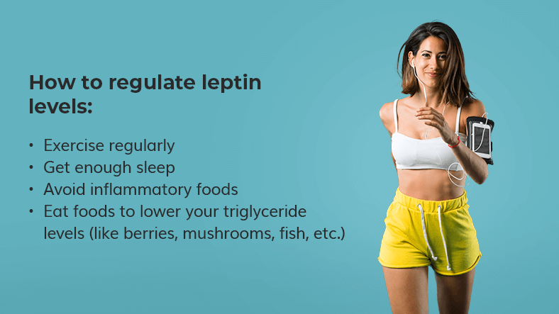 how to regulate leptin levels