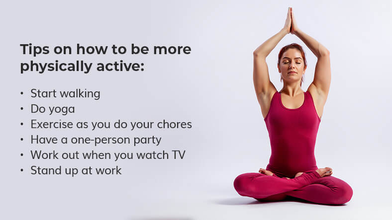 how to be more physically active