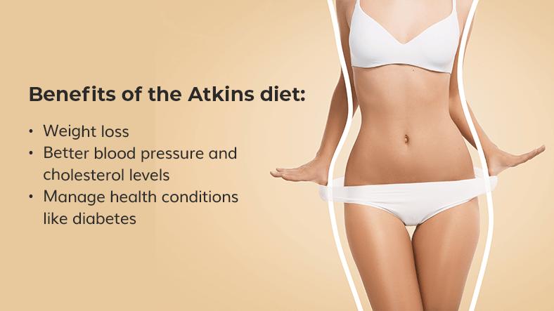 atkins diet benefits