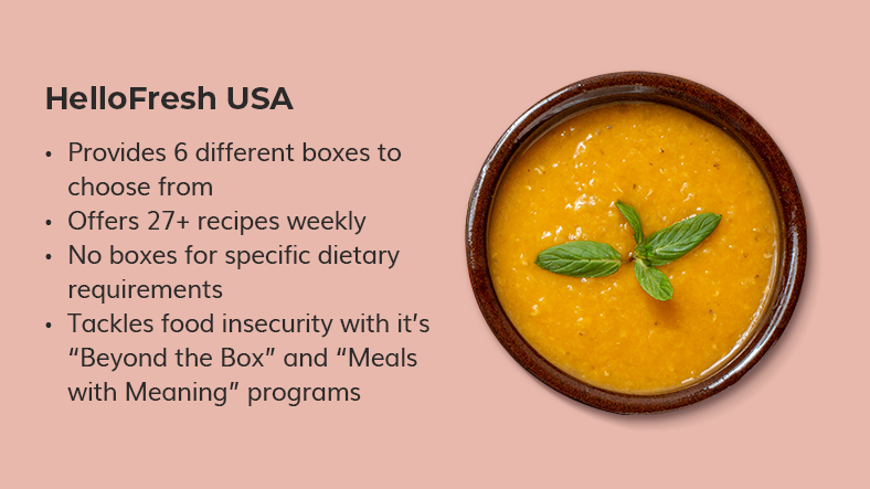 healthy food subscription boxes usa
