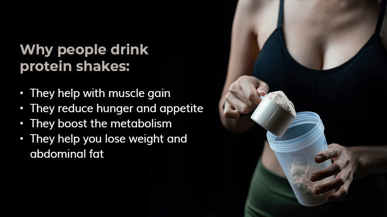 Why drink protein shakes