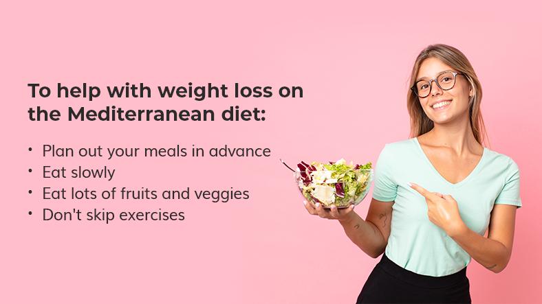 weight loss mediterranean diet