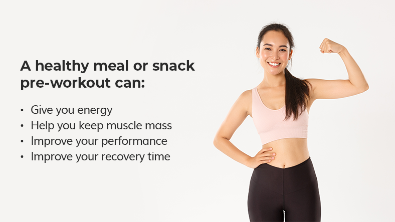 pre-workout meal benefits